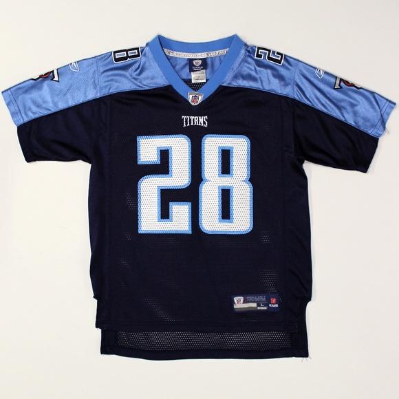 Chris Johnson #28 Tennessee Titans Reebok Jersey